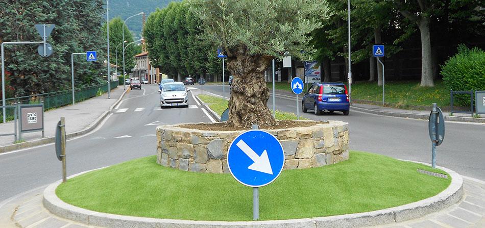 Erba sintetica arredo urbano italgreen landscape for Un arredo urbano
