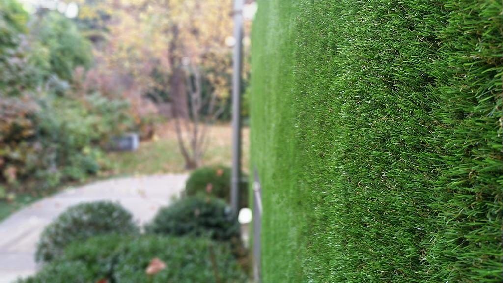 Giardino verticale erba sintetica 2