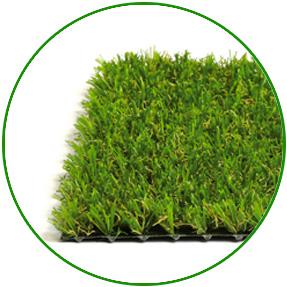 Erba Sintetica per Giardini Privati e Aree Pubbliche - Fine 20 mm