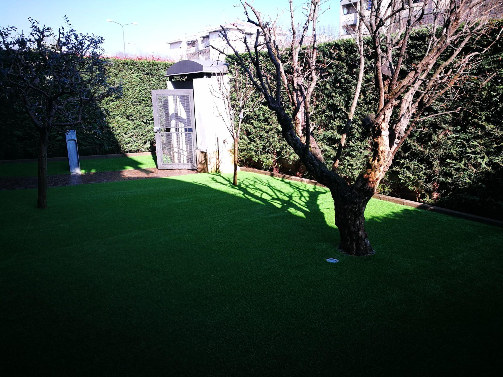 Erba sintetica trasforma il tuo giardino da sogno - Giardino erba sintetica ...