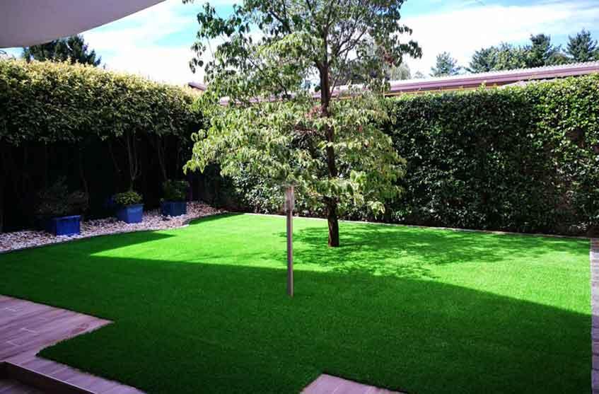 Erba sintetica per esterni italgreen landscape - Erba sintetica per giardino ...