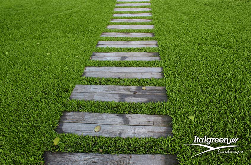 spazi verdi condominiali vialetti