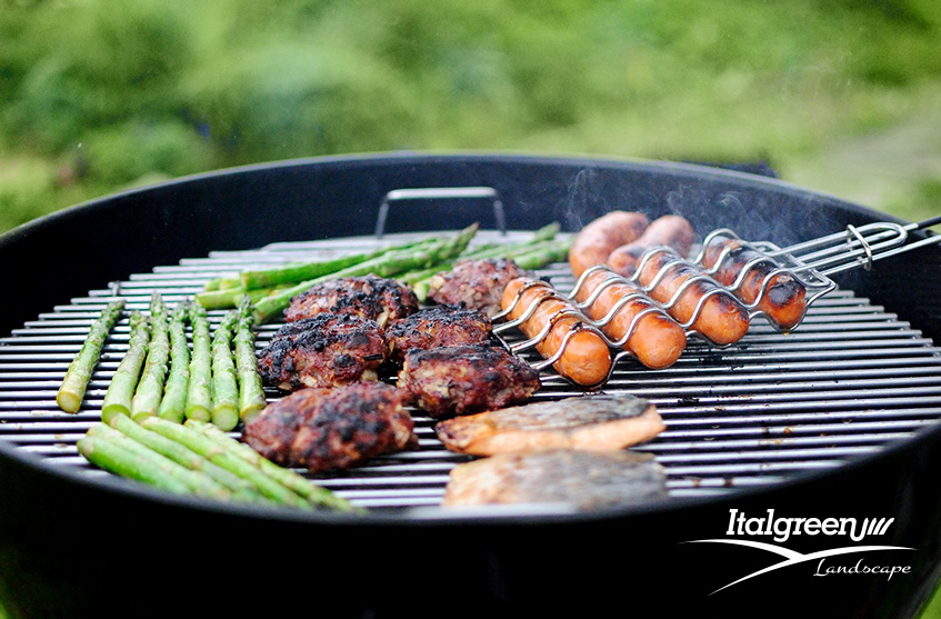 tendenze arredo giardino 2019 barbecue