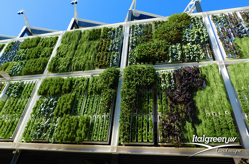 giardino verticale di tendenza expo 2015