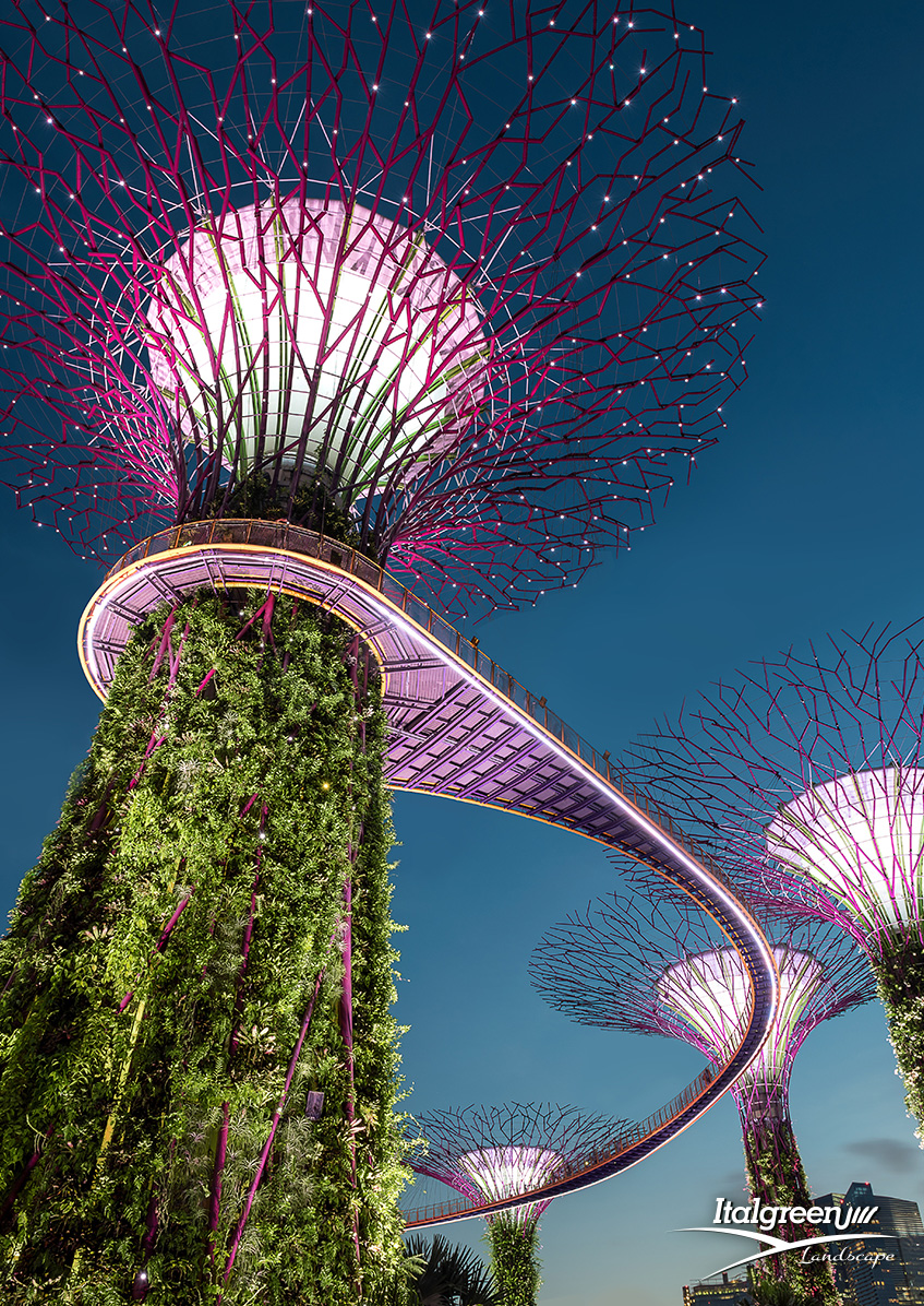 interventi di verde urbano garden bay singapore