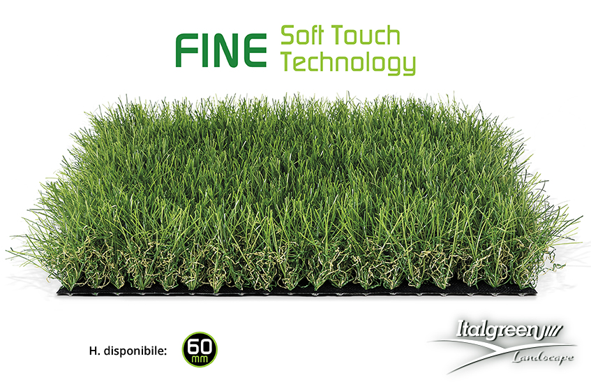 Fine Soft Touch e Dreamy Natural Look, la rivoluzione dell'erba sintetica di Italgreen Landscape-soft-touch