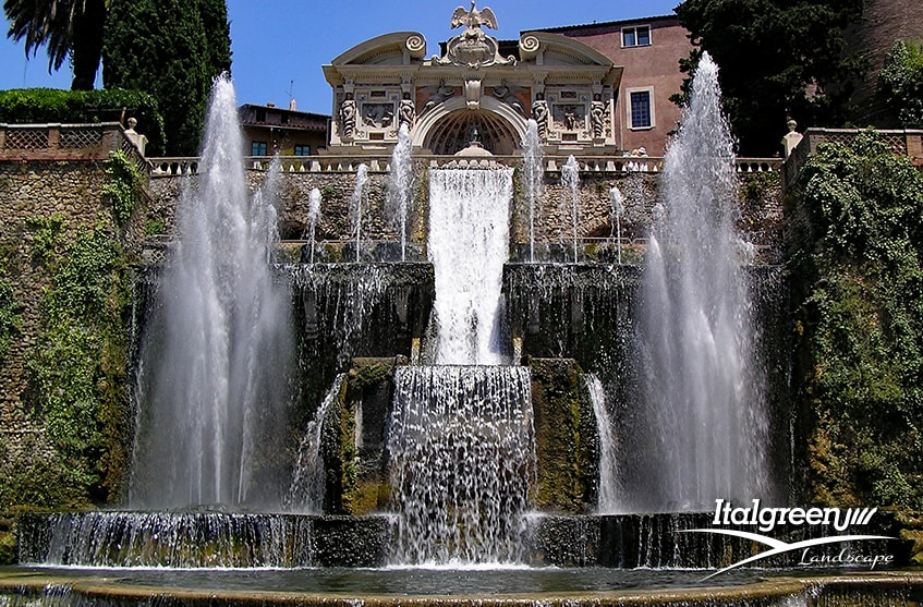Giardino all'italiana Villa d'Este