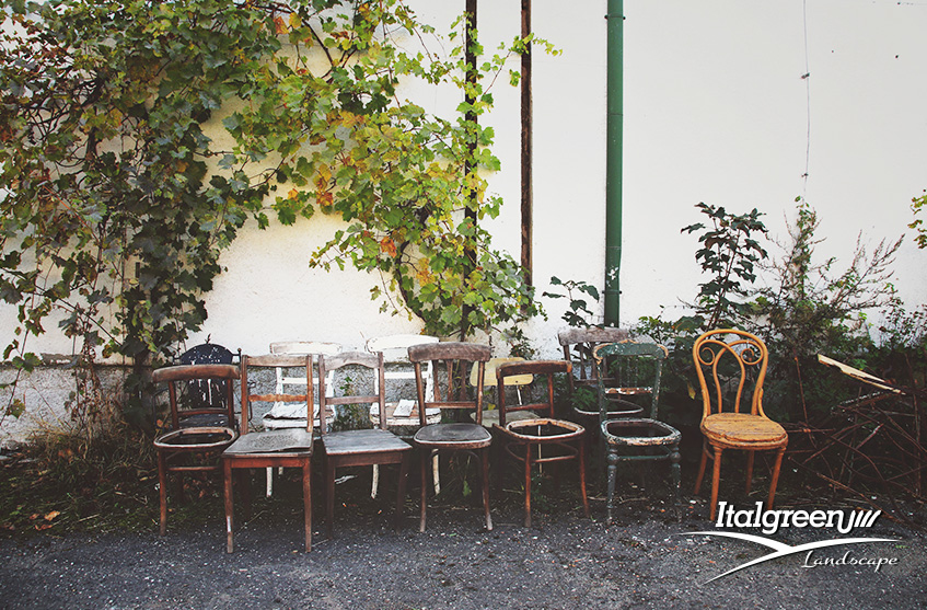 Mangiare all'aperto sedie