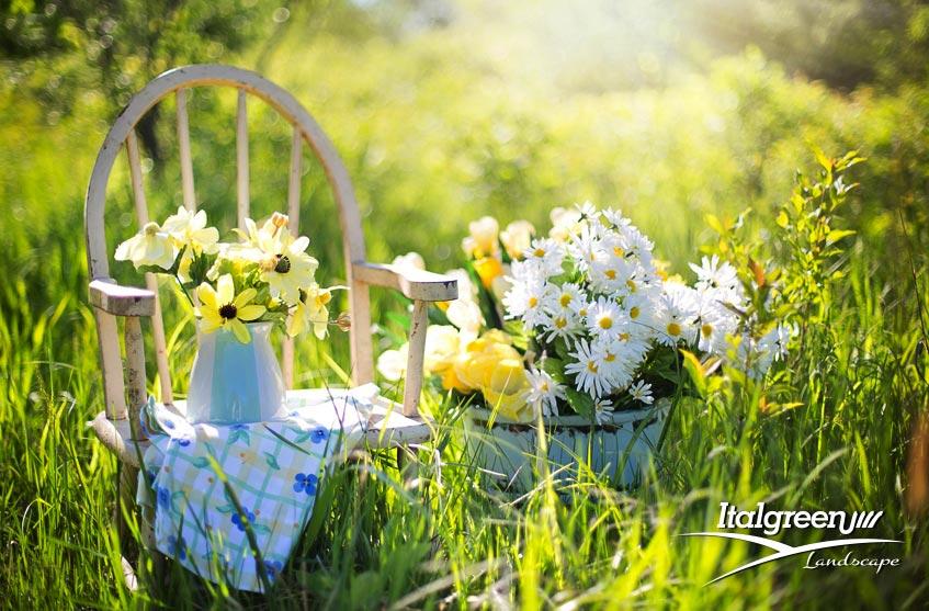 Il giardino non va in ferie attento ai vasi