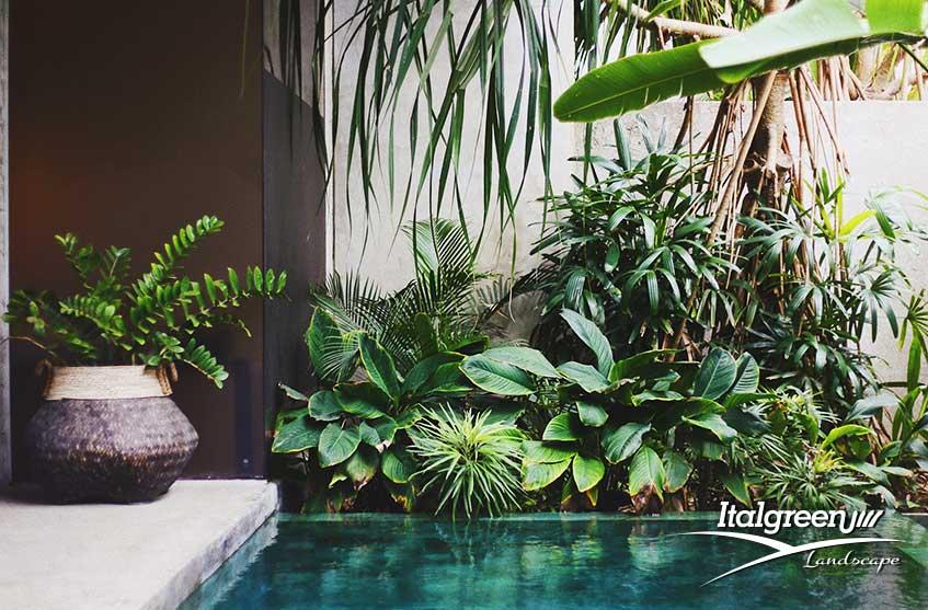 Tendenze arredo giardino 2020 tropicale