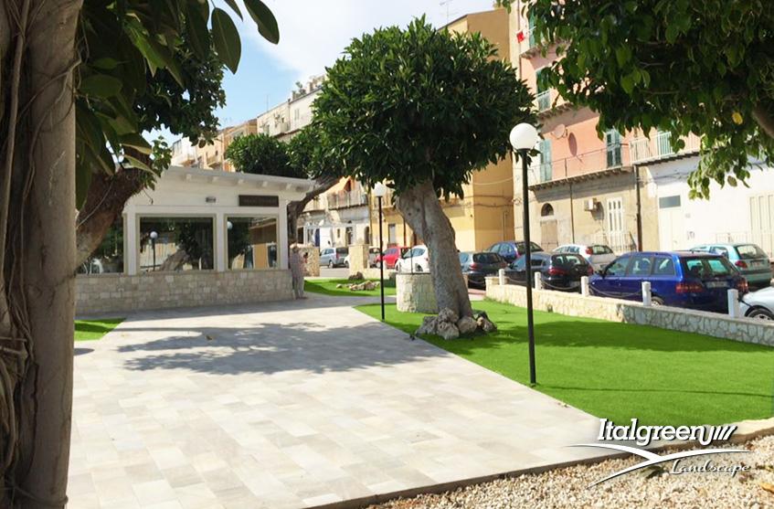 Giardino del mese realizzazione Porto Empedocle Italgreen Landscape