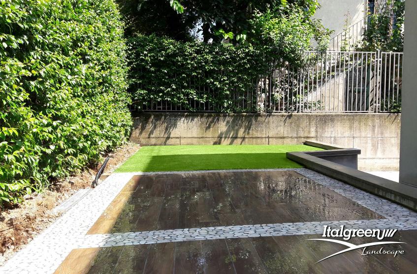 Giardino del mese Bergamo via Diaz 44mq DREAMY35 Italgreen Landscape 2