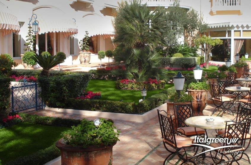 Spazi esterni di ristoranti come renderli sicuri Italgreen Landscape