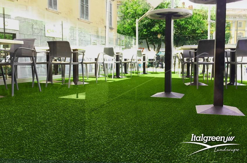 erba sintetica per ristoranti dehors dei locali Italgreen Landscape